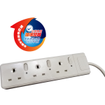 3 Gangs Safety Extension Sockets