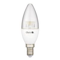 6W Clear Cover LED Candle Bulb