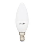 6W Frosted Cover LED Candle Bulb