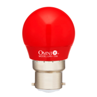 LED Red Round Bulb