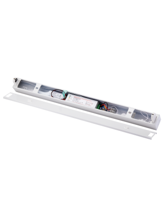 LED T8 Double Tube Emergency Batten Set