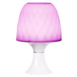 Gemlite LED Bedroom Mood Lamp Pearl+Amethyst