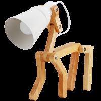 LED Doggie Wooden Lamp
